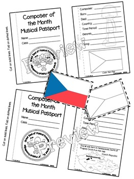 Dvorak Passport (Composer of the Month)