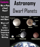Dwarf Planets PowerPoint - Solar System (Space Science/ Astronomy Unit)