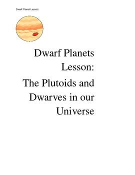 Dwarf Planets Lesson