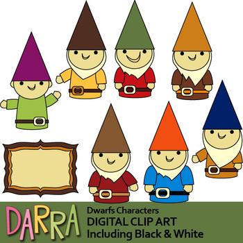 Dwarfs clip art