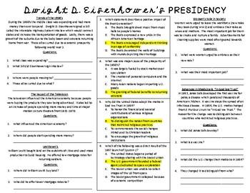 Dwight D. Eisenhower's Presidency