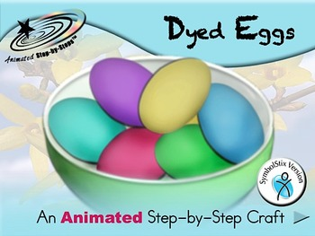 Dyed Eggs - Animated Step-by-Step Craft SymbolStix