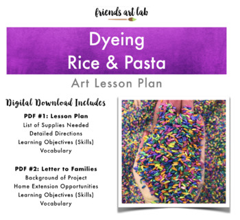 Dyeing Rice & Pasta with NO Rubbing Alcohol (Tips + Tricks, Sensory, Tactile)