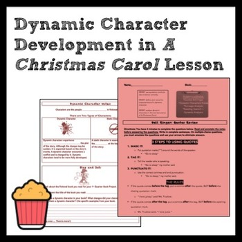 Dynamic Character Development in A Christmas Carol