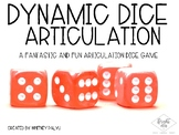 Dynamic Dice - Articulation Drill Game