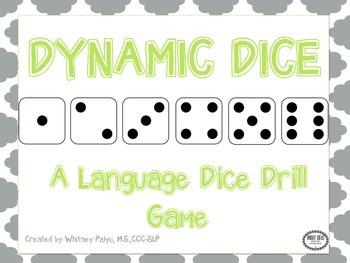 Dynamic Dice - Language Drill Game