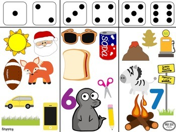 Dynamic Dice - Phonology Drill Game
