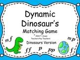 Dynamic Dinos Matching Cards: Dynamics (Music Set #2)