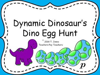 Dynamic Dinosaur Set: PDF Game and Visuals for Music