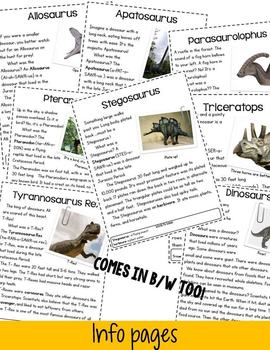 Dynamic Dinosaurs! A Nonfiction Pack