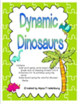 Dynamic Dinosaurs Pearson Reading Streets Sight Words Grad