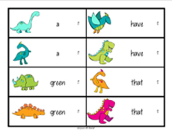 Dynamic Dinosaurs Pearson Reading Street Sight Words Grade 1 unit 1