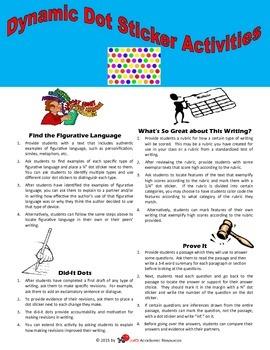 Dynamic Dot Sticker Activities