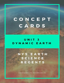 Dynamic Earth - Concept cards