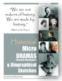 Monologues 17 History & 17 Herstory Micro-Dramas and Biogr