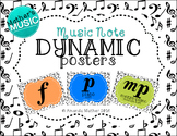 Dynamic Posters - Music Note