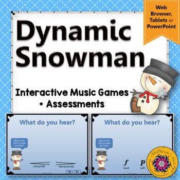 Dynamics ~ Winter Music Games (Interactive Music Games} snowman
