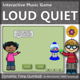Dynamics Loud Quiet ~ Music Opposite Interactive Music Game {gumball}