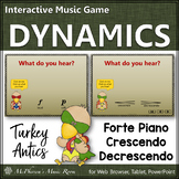 Thanksgiving Music Dynamics ~ Interactive Music Games {Turkey Antics}