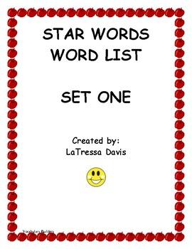Vocabulary Builders Set One