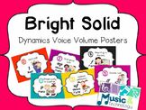 Dynamic Voice Volume Posters- Bright Solid