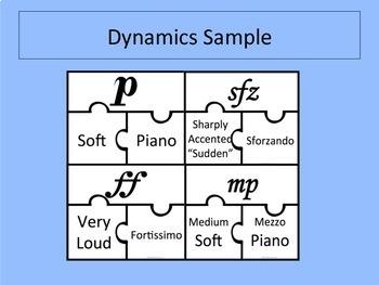 Dynamic and Symbols Puzzle BUNDLE