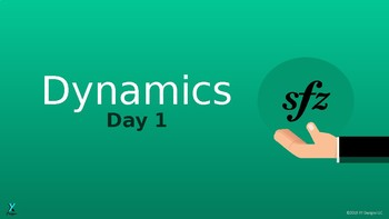 Dynamics 5-Day Unit