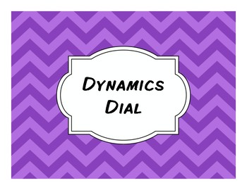 Dynamics Dial