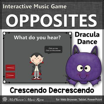 Dynamics Interactive Music Game - crescendo and decrescendo (Dracula)