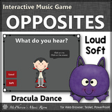 Fall Music Game ~ Dynamics Loud Soft Interactive Music Game {Dracula}