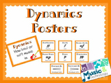 Elements of Music- Dynamics Posters