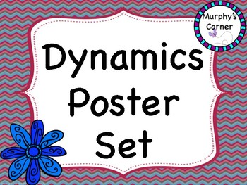 Dynamics Poster Set Option 1