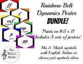 Dynamics Poster Set: Rainbow Belt BUNDLE