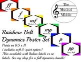 Dynamics Poster Set: Rainbow Belt (English)