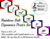 Dynamics Poster Set: Rainbow Belt (Italian)