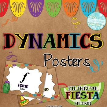 Dynamics Posters: Bilingual Fiesta