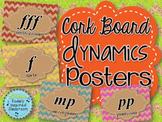 Dynamics Posters - Chevron Cork Board