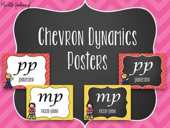 Dynamics Posters - Chevron Theme