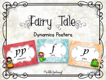 Dynamics Posters - Fairy Tale Theme