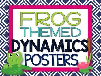 Dynamics Posters - Frog Theme