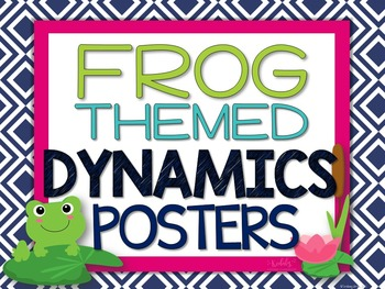 Dynamics Posters - Frog Theme