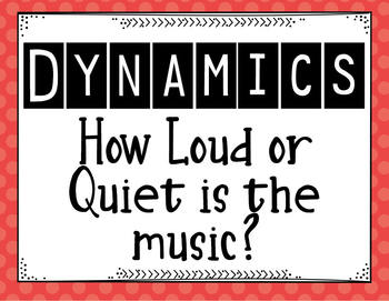 Dynamics Posters Full Color or Black and White