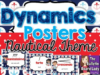 Dynamics Posters –Nautical Theme