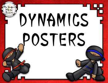 Dynamics Posters {Ninja}