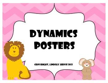 Dynamics Posters - Pastel Chevron
