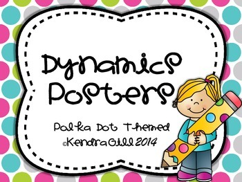 Dynamics Posters - Polka Dot Themed