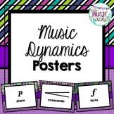 Dynamics Posters: Purple, Teal, Green & Blue Patterns