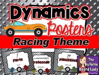 Dynamics Posters Racing Theme