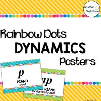 Dynamics Posters: Rainbow Dots Theme