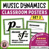 Music Decor: Classroom Dynamics Posters Set 2